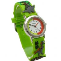 Ravel Kids Childs Dinosaur Design Watch 3D Silicone Strap 1513.59